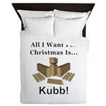 Christmas Kubb Queen Duvet