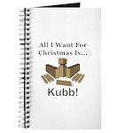 Christmas Kubb Journal