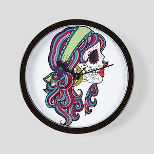 Sugar Skull 070 Wall Clock