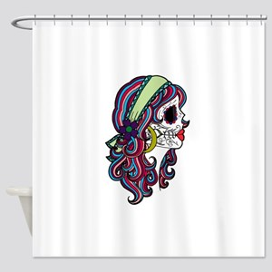 Sugar Skull 070 Shower Curtain