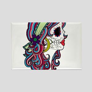 Sugar Skull 070 Magnets