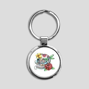 Sugar Skull 069 Keychains
