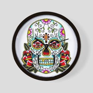 Sugar Skull 067 Wall Clock