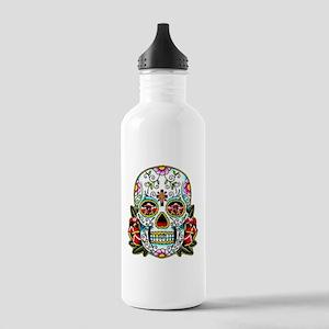 Sugar Skull 067 Stainless Water Bottle 1.0L