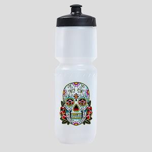 Sugar Skull 067 Sports Bottle