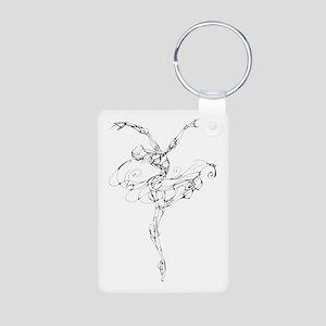 IB Ballerina Arch Aluminum Photo Keychain