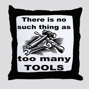 HANDY MAN/MR. FIX IT Throw Pillow
