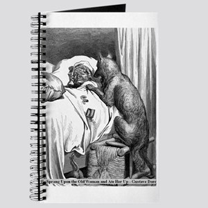 The Wolf and Granny - Gustave Dore