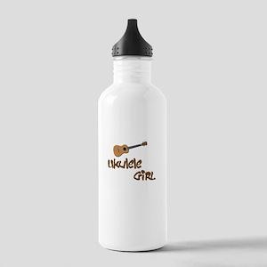 ukulele girls Stainless Water Bottle 1.0L