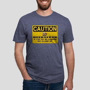 Caution Beekeeper Women's Dark T-Shirt