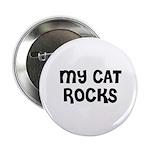 MY CAT ROCKS Button