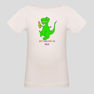 Artosaurus Rex Organic Baby T-Shirt