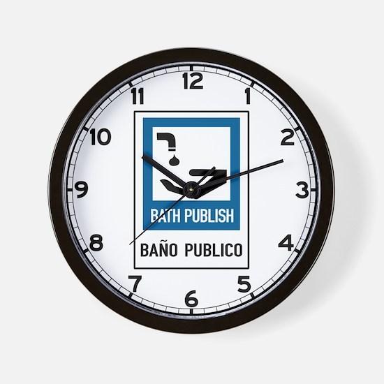Bath Publish, Peru Wall Clock