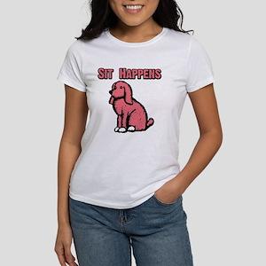 2-sit happenspink 4-10 T-Shirt