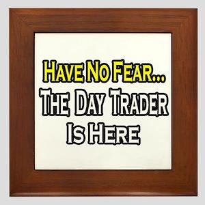 """""""No Fear...Day Trader"""" Framed Tile"""