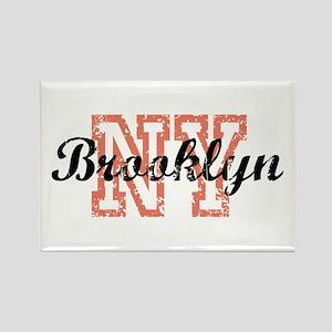 Brooklyn NY Rectangle Magnet