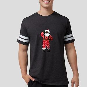 glitter black santa claus T-Shirt