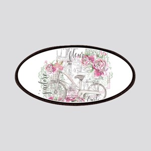 Shabby Chic Bicycle Peony Patch