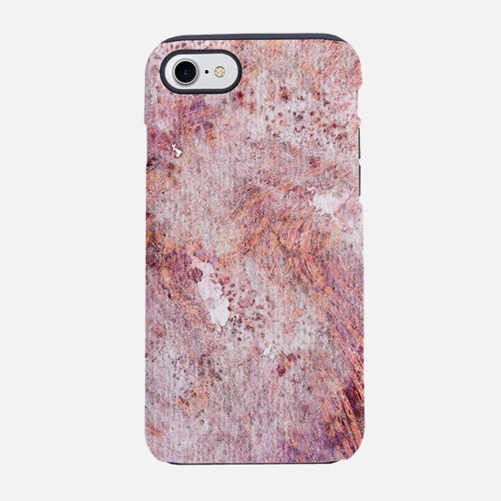 Pink Rose Gold Marble Watercol iPhone 7 Tough Case