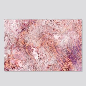 Pink Rose Gold Marble Wat Postcards (Package of 8)