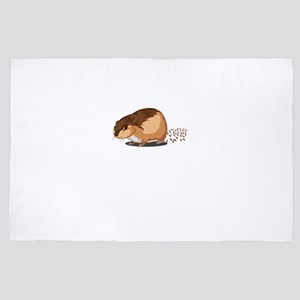 Pellet Factory Hamster Rodents Wild An 4' x 6' Rug