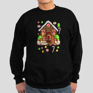 Gingerbread People & House Sweatshirt
