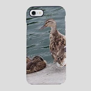 Geese Family iPhone 8/7 Tough Case