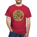 Celtic Reindeer Shield Dark T-Shirt
