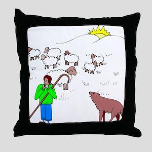 Shepherd BoyThrow Pillow