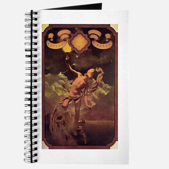 Prometheus Journal by Maxfield Parrish