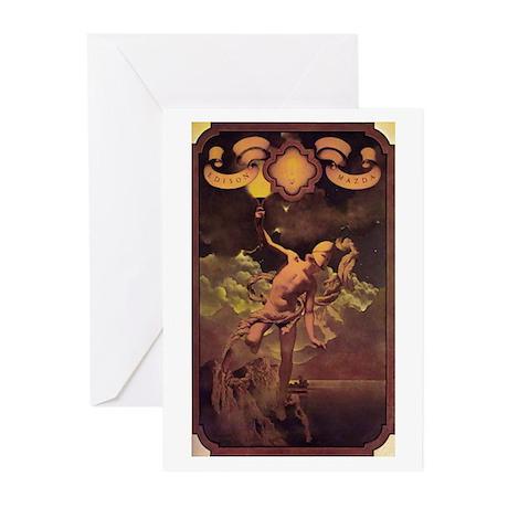 Prometheus (Maxfield Parrish) Cards (Pkg 6)