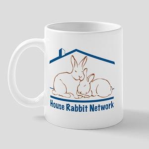 House Rabbit Network Logo  Mug