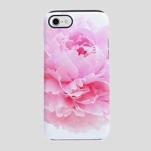 pink peony iPhone 7 Tough Case