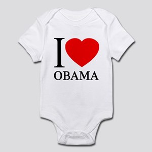 I (Heart) Obama Infant Bodysuit