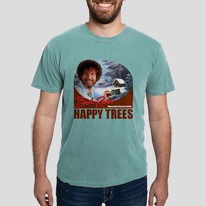 WhiteT_HappyTrees_DarkSienna T-Shirt