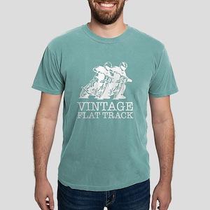 Flat Track White 12 64 T-Shirt