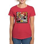 Spotaneous Smiley Clothes Women's Dark T-Shirt