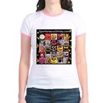 Spotaneous Smiley Clothes Jr. Ringer T-Shirt
