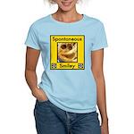 Spotaneous Smiley Clothes Women's Light T-Shirt