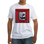 Spotaneous Smiley Clothes Fitted T-Shirt