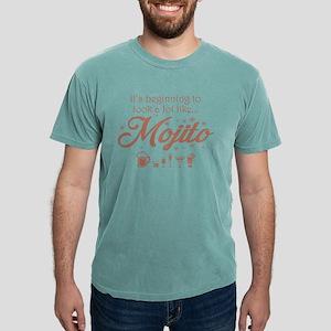 Its Beginning Looks Lot Like Mojito Christ T-Shirt