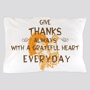 Happy Thanksgiving Day Pillow Case