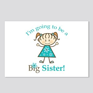 Big Sister to be Postcards (Package of 8)