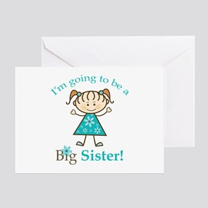Big Sister to be Greeting Card