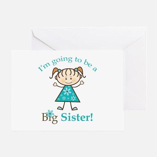 Big Sister to be Greeting Card