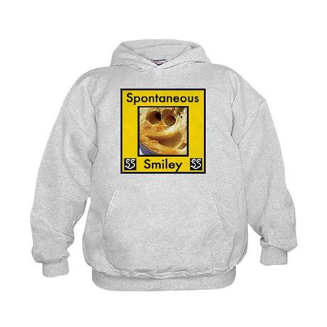 Spotaneous Smiley Clothes Kids Hoodie