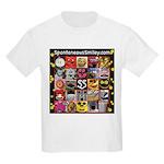 Spotaneous Smiley Clothes Kids Light T-Shirt
