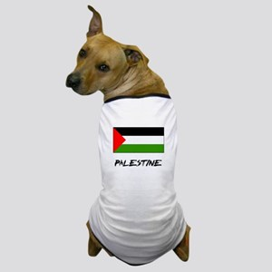 Palestine Flag Dog T-Shirt