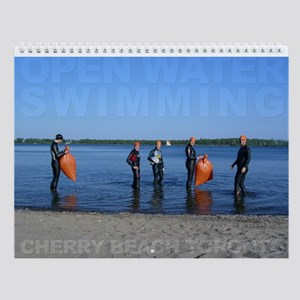 Open Water Swimming Wall Calendar