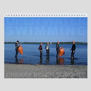 Open Water Swimming Wall Calendar